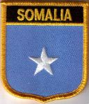 Somalia Embroidered Flag Patch, style 07.